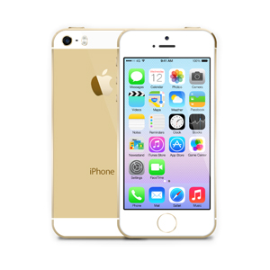iPhone 5S Gold Bree