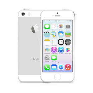 iPhone 5S White Silver Bree