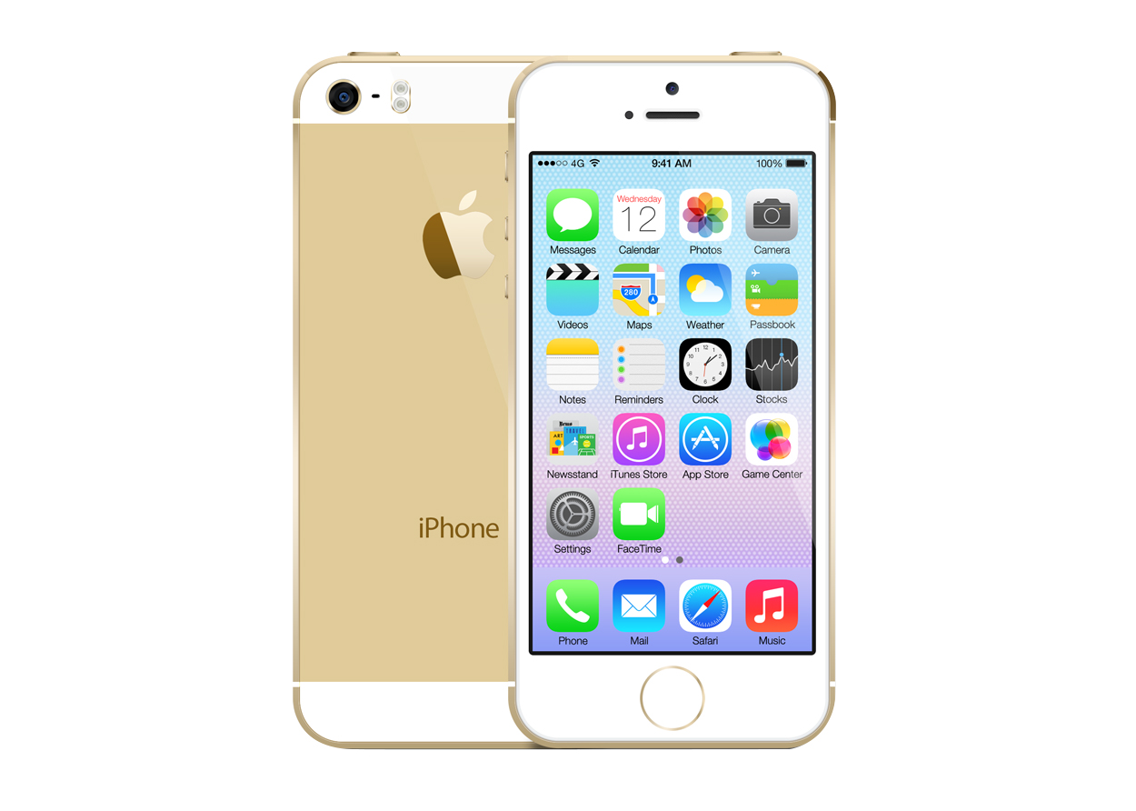 iPhone 5S Gold Eindhoven